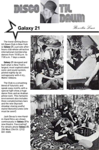 Galaxy21 Poster (New York) - George Freeman