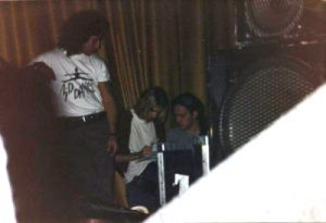 Nirvana Backstage at King Performance Center (George Freeman)